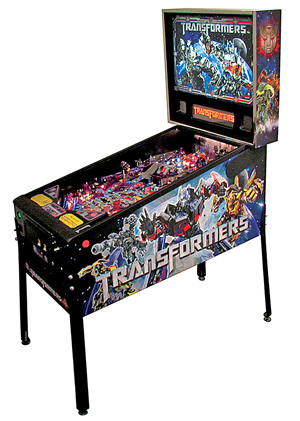Transformer Pro Pinball - Latest Pinball Collection