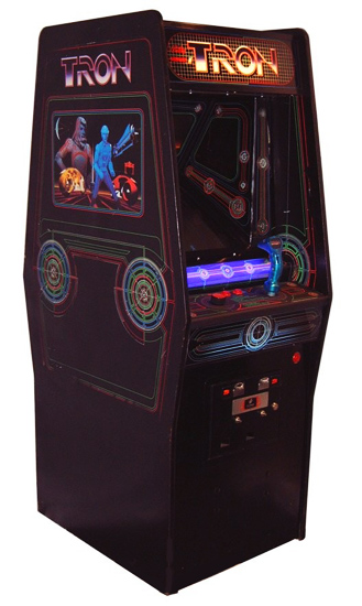 Tron Arcade Game - Classics Arcade Game for rent from Video Amusement