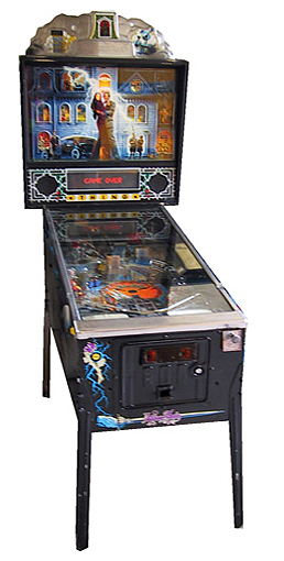 Addams Family pinball - Classic Pinball Collection