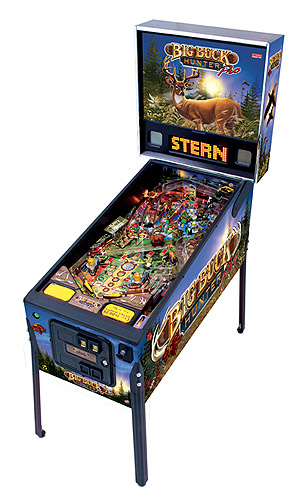 Big Buck Hunter pinball - Latest Pinball Collection