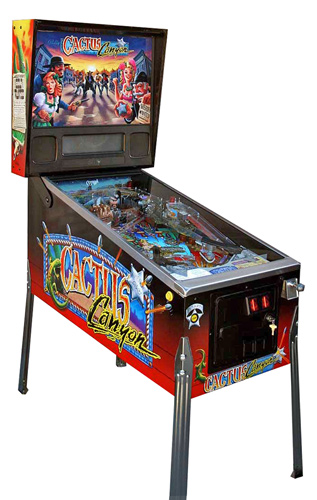 Cactus Canyon pinball - Classic Pinball Collection