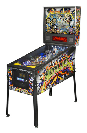 Metallica PRO pinball - Latest Pinball Collection