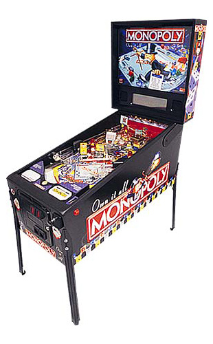 Monopoly Pinball - Latest Pinball Collection