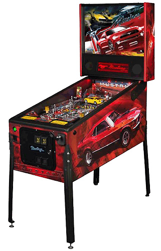Mustang PRO pinball - Latest Pinball Collection
