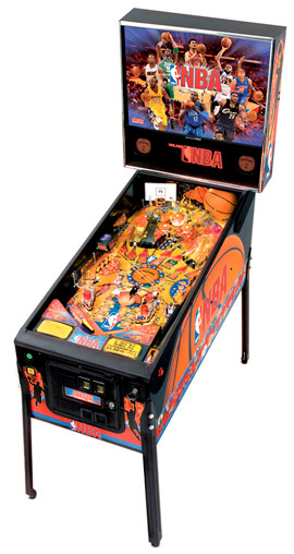 "NBA pinball - ""atest Pinball Collection"