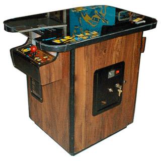 Pacman Table Game >> Pac Man Arcade Game Rental Video Amusement San Francisco Bay Area