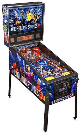 The Rolling Stones pinball - Latest Pinball Collection