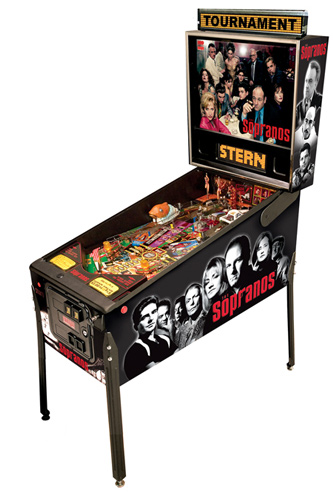 The Sopranos Pinball - Latest Pinball Collection