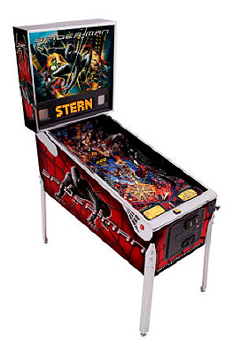 Spider Man Pinball Machine - Exciting game for both younger and older players.