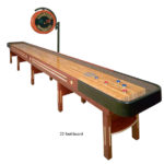 22 foot Championship shuffle board table rental California