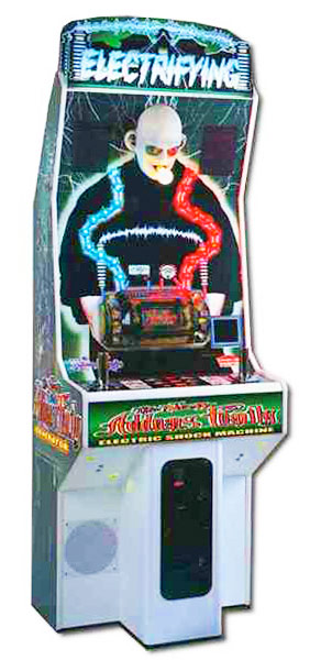 Addams Family Electric Shock Machine Arcade Game Rental San Francisco from Video Amusement
