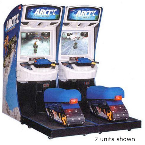 Arctic Thunder Snowmobile Racing Game rental from Video Amusement