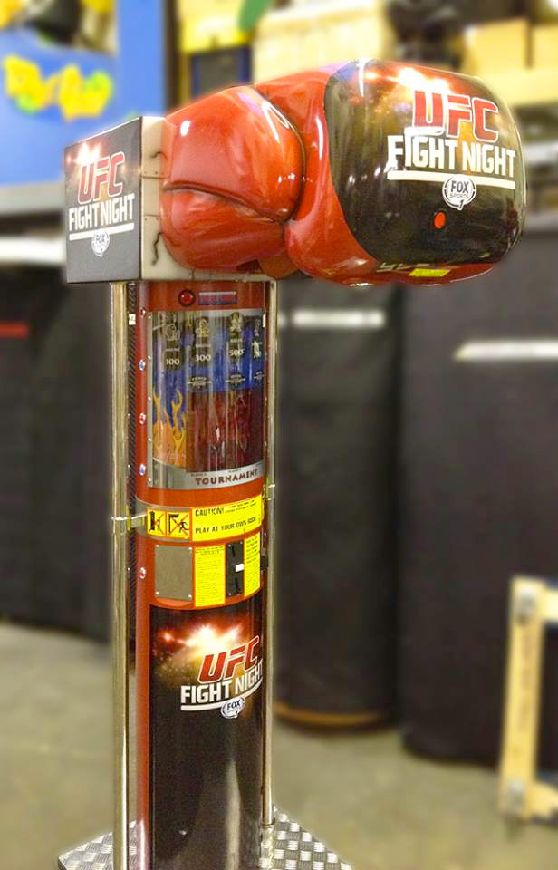Boxer Machine Sport Game Rental Video Amusement San