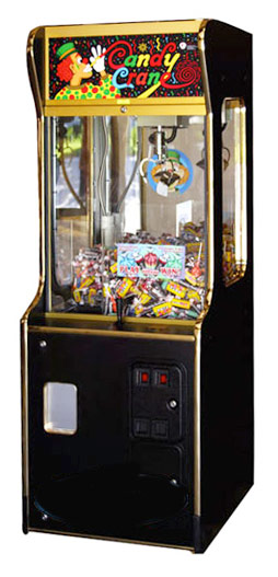 Candy Crane Game Machine Rental