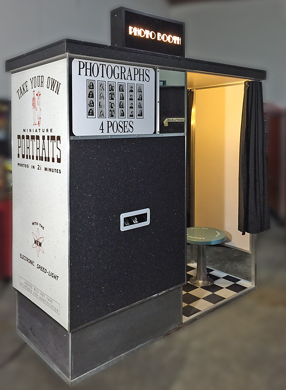Carnival Photo Booth Rental - Vintage Photo Booth - Video Amusement