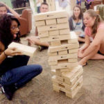 Carnival Giant Jenga Tumbling Tower game for Rent Interactive Entertainment
