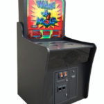 Carnival Whac a Mole Custom Built for Video Amusement will all Black Laminate