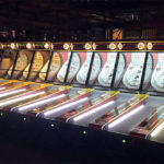 Classic Skee Ball Arcade Game Rental with 18 lanes from Video Amusement