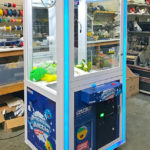 Claw Game Prize Cube Branded for Rental Corporate event San Jose from Video Amusement
