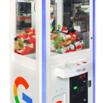 Crane Machine with Google branding for rent Mountain View from Video Amusement