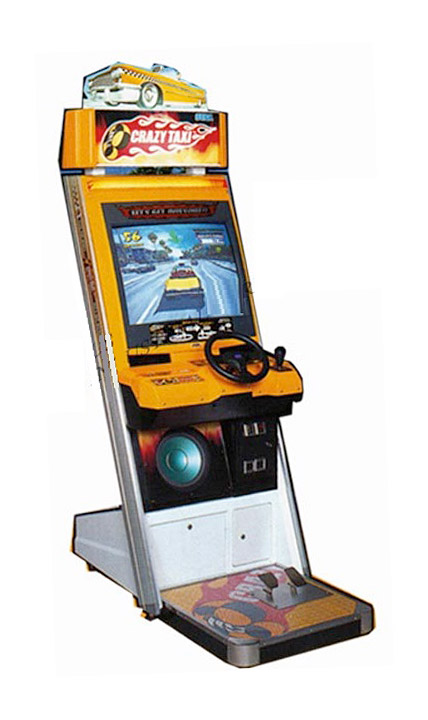 Crazy Taxi Driving Arcade Game rental from Video Amusement