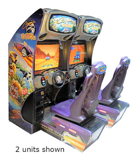 Cruisn Exotica Racing Arcade Game rental from Video Amusement