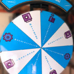 Custom Promotion Prize Wheel for rental event in San Francisco