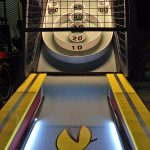 Customized Skeeball game for a trade show