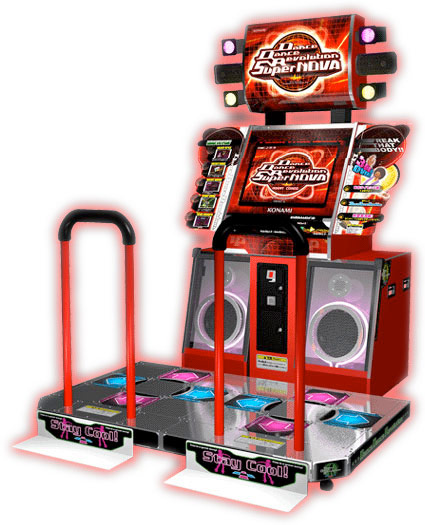 Dance Dance Revolution Supernova Arcade Game rental San Francisco Video Amusement