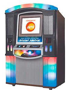 Digital Jukebox Internet for rent from Video Amusement