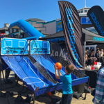 Double Shot Basketball branded for Powerade rental event Pier 39 San Francisco California