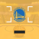 Double Shot back board branded for Golden State Warriors rental event Oracle Arena Oakland California
