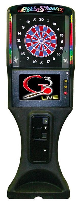 Galaxy 3 LED Electronic Dart Arcade Game Machine rental