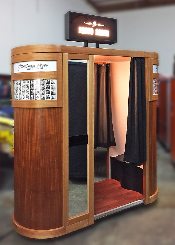 Bay Auto Parts >> Grand Classic Photo Booth Rental - Vintage Photo Booth - Video Amusement San Francisco Bay Area ...