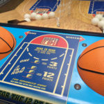 Head to head competition basketball game for rent from Video Amusement