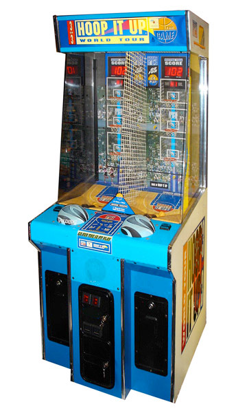 Hoop it up basketball arcade game rental San Francisco Bay Area provided by Video Amusement
