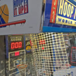 Interactive arcade basketball rental game San Jose California from Video Amusement