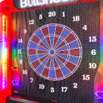 LED glowing Electronic Darts game rental