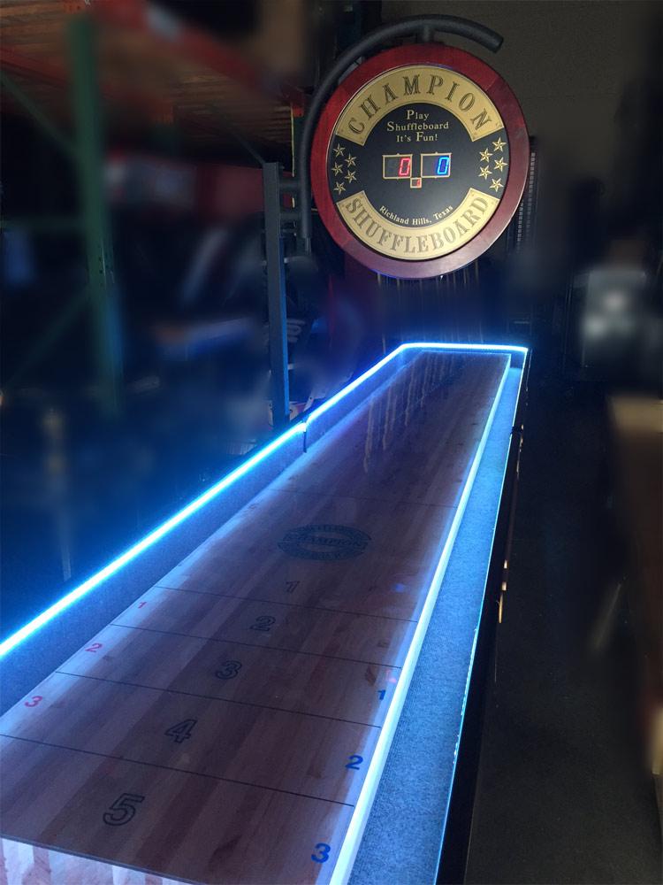 Shuffleboard Table Arcade Game Rental Video Amusement
