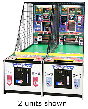 Major League Baseball Arcade Game Rental San Francisco from Video Amusement