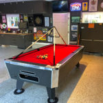 Man cave pool table rental from Video Amusement