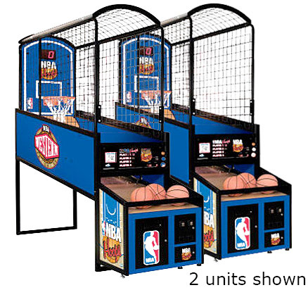 NBA Hoops Basketball Arcade Game Rental San Francisco