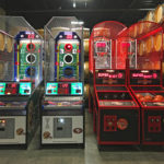 NFL Football Arcade and Supershoot Basketball Games rental provided by Video Amusement