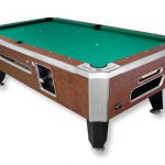 Panther Valley Dynamo Pool Table Brown Table