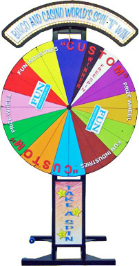 Prize Wheel Spin and Win for rent San Francisco California