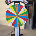 Prize wheel Spin and Win Carnival Game with customization