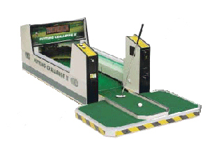 Putting Challenge Golf Commercial Edition Game rental San Francisco from Video Amusement