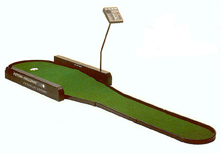 Putting Challenge Golf Game rental San Francisco California from Video Amusement