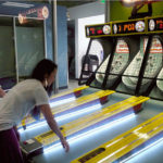 Skeeball Arcade Game Rented to Moscone San Francisco from Video Amusement