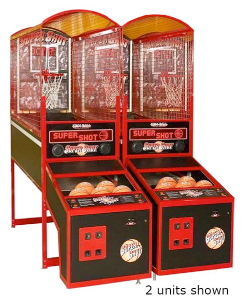 Super Shot Basketball Arcade Game for Rent San Francisco